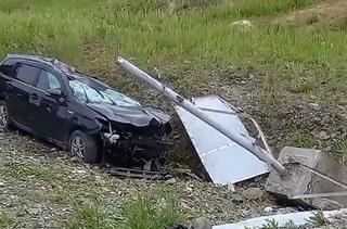 «Отвлекся на телефон, дважды перевернулся в воздухе»: серьезное ДТП разыгралось в Приморье