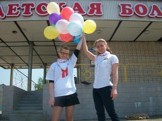 Молодогвардейцы Уссурийска навестили маленьких пациентов Детской больницы