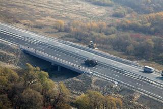 Завершено сооружение двух мостов через реку Осиновка на трассе М-60