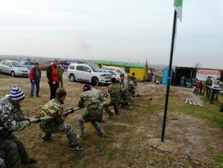 Соревнования по пейнтболу прошли среди воспитанников детдома в Уссурийске