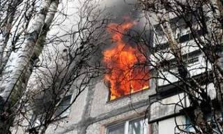 В пожарах в первые часы нового года погибли двое уссурийцев