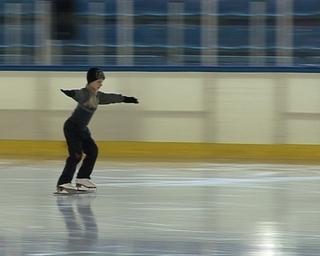 Будущий олимпийский чемпион тренируется в
