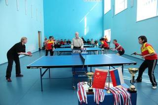 В Уссурийске состоялась международная товарищеская встреча по настольному теннису