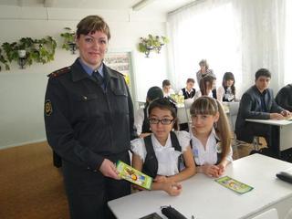 «Уроки безопасности для взрослых и детей» проводят полицейские