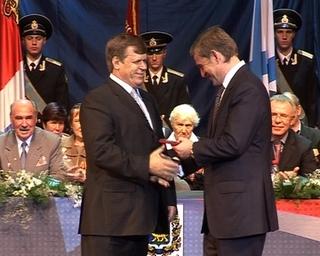 Глава УГО получил от губернатора памятную медаль «70 лет Приморскому краю»