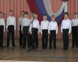 Хор мальчиков гастролирует по Приморью, выполняя программу губернатора