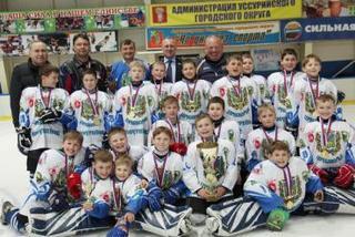 Открытое первенство по хоккею среди детских команд состоялось на «Ледовой арене»