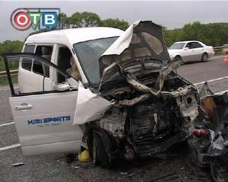 Тяжелая авария произошла на государственной трассе М60