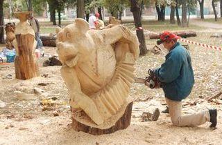 Конкурс деревянной скульптуры стартует в Уссурийске