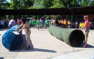 В Уссурийске прошёл фестиваль детских дворовых команд