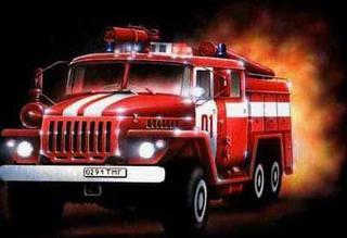 В Уссурийске при пожаре в пятиэтажном доме пострадал мужчина