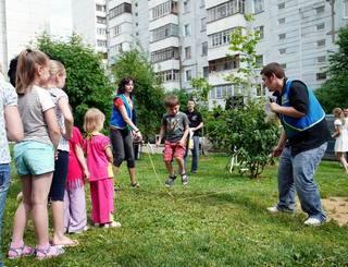 В УГО стали традиционными праздники дворов и микрорайонов