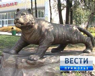Тигр поселился в центре Уссурийска