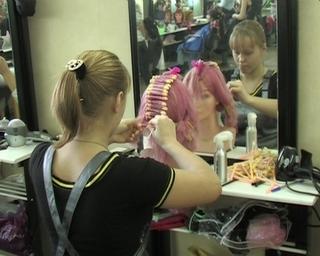 На парикмахерском отделении студентов больше в три раза обычного