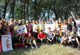 На берегу Солдатского озера прошёл спортивно-развлекательный праздник
