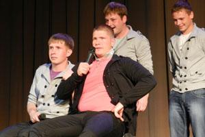 В МЦКД «Горизонт» состоялся первый рейтинговый фестиваль Уссурийской лиги КВН
