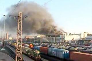 В депо локомотивно-ремонтного завода в Уссурийске произошёл пожар